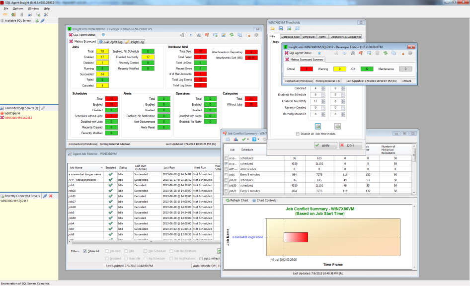 SQL Agent Insight screenshot